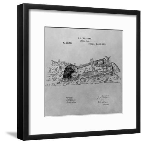 Animal Trap, 1882-Gray-Dan Sproul-Framed Art Print