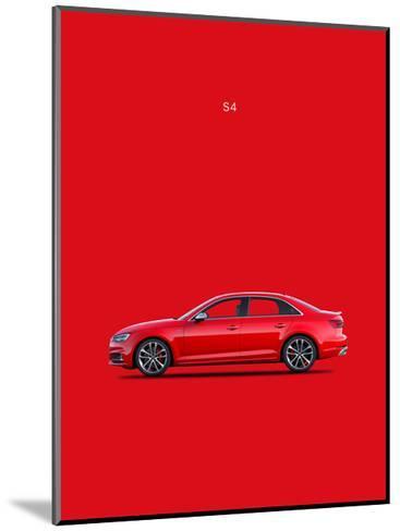 Audi S4 2015-Mark Rogan-Mounted Giclee Print