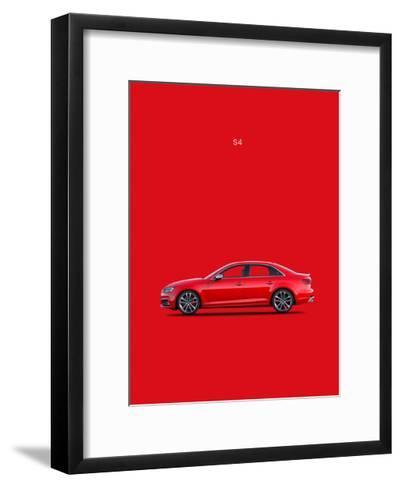 Audi S4 2015-Mark Rogan-Framed Art Print