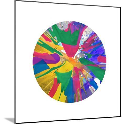 Circular Motion VIII-Josh Evans-Mounted Giclee Print