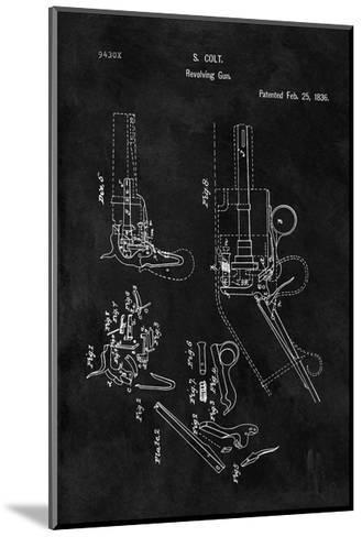 Colt-Revolving Gun, 1836-Black-Dan Sproul-Mounted Giclee Print