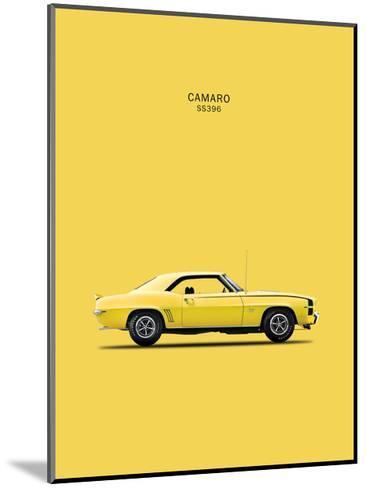 Chevy Camaro SS396 1969-Mark Rogan-Mounted Giclee Print