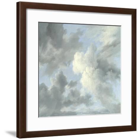 Cloud Study IV-Sophia Mann-Framed Art Print