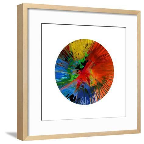 Circular Motion IV-Josh Evans-Framed Art Print