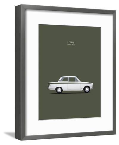 Ford Lotus Cortina Mk1 1966-Mark Rogan-Framed Art Print