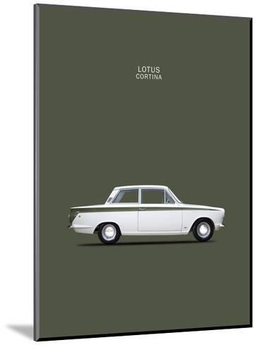 Ford Lotus Cortina Mk1 1966-Mark Rogan-Mounted Giclee Print