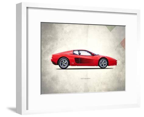 Ferrari Testarossa 1996-Mark Rogan-Framed Art Print
