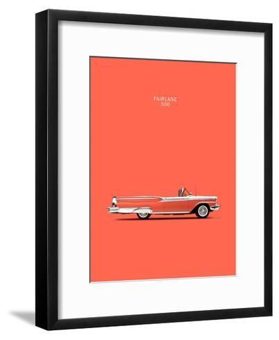 Ford Fairlane 500 1959-Mark Rogan-Framed Art Print