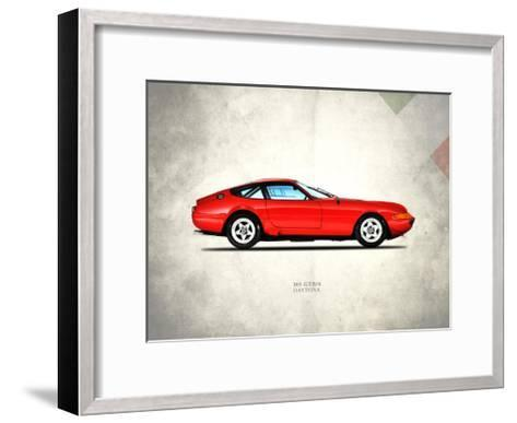 Ferrari 365 GTB-4 1969-Mark Rogan-Framed Art Print