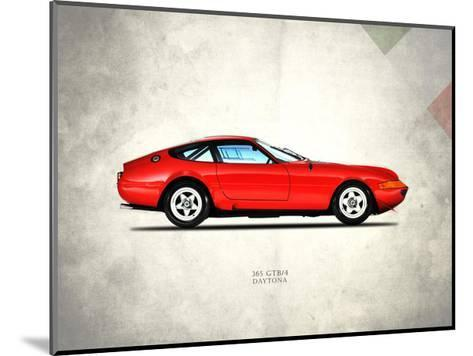 Ferrari 365 GTB-4 1969-Mark Rogan-Mounted Giclee Print