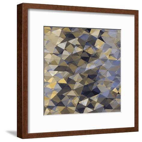 Geometric Squared I-Jan Tatum-Framed Art Print
