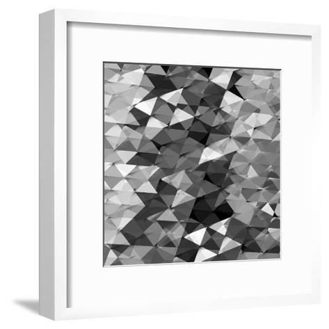 Geometric Squared II-Jan Tatum-Framed Art Print