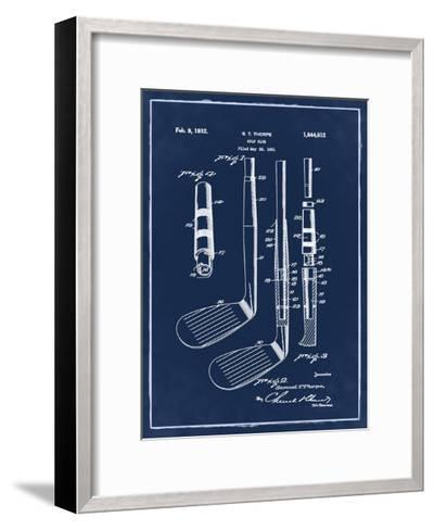 Golf Club, 1931-Blue II-Bill Cannon-Framed Art Print