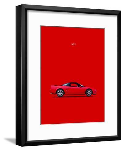 Honda NSX-Mark Rogan-Framed Art Print