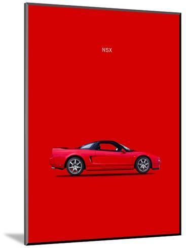 Honda NSX-Mark Rogan-Mounted Giclee Print