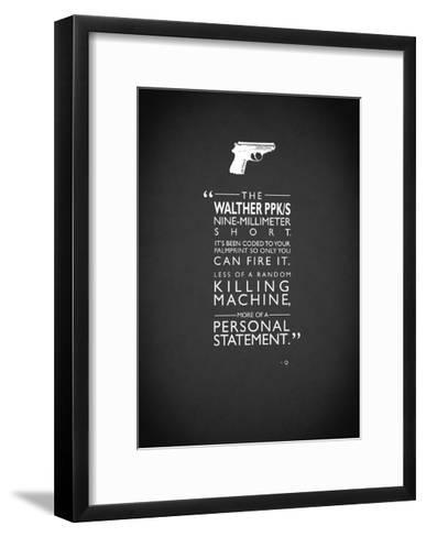 JB Go Skyfall Personal-Stateme-Mark Rogan-Framed Art Print