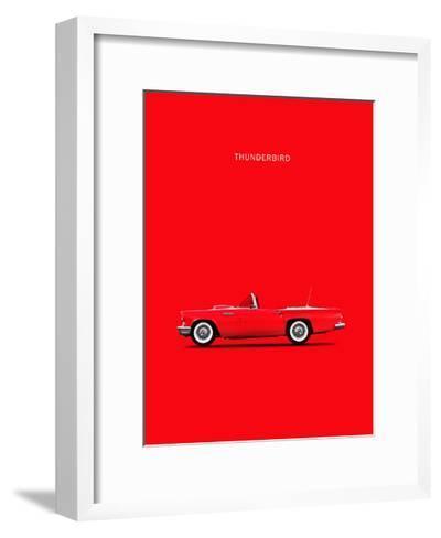 Ford Thunderbird 1957-Mark Rogan-Framed Art Print