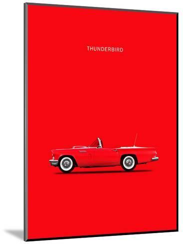 Ford Thunderbird 1957-Mark Rogan-Mounted Giclee Print