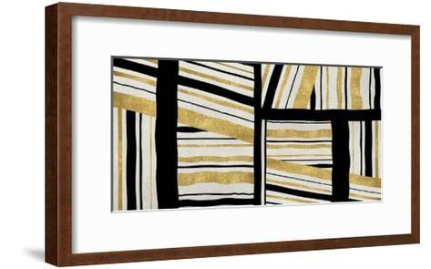 Intersect - Golden-Ellie Roberts-Framed Art Print