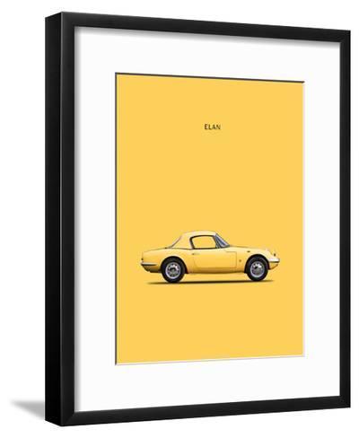 Lotus Elan 1965-Mark Rogan-Framed Art Print