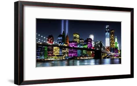 NYC In Living Color II-Carly Ames-Framed Art Print
