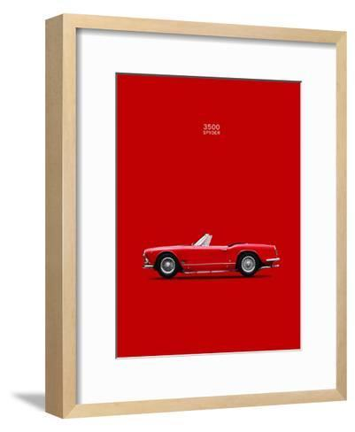 Maserati 3500 Spyder 1959-Mark Rogan-Framed Art Print