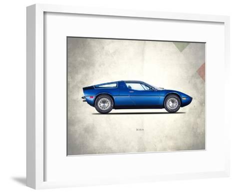 Maserati Bora 1973-Mark Rogan-Framed Art Print