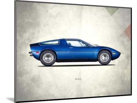 Maserati Bora 1973-Mark Rogan-Mounted Giclee Print