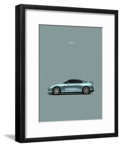 Nissan GT-R-Mark Rogan-Framed Art Print