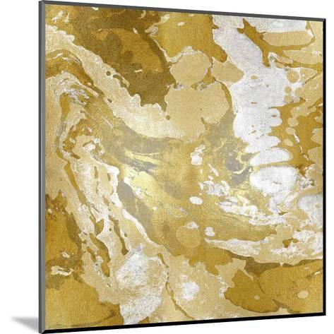 Marbleized in Gold and Silver II-Danielle Carson-Mounted Giclee Print