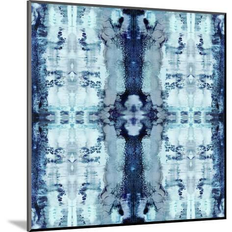 Patterns in Blue-Ellie Roberts-Mounted Giclee Print