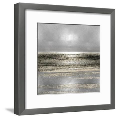 Silver Seascape I-Michelle Matthews-Framed Art Print