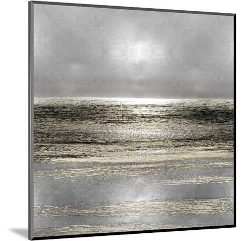 Silver Seascape I-Michelle Matthews-Mounted Giclee Print