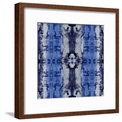 Patterns in Indigo-Ellie Roberts-Framed Art Print