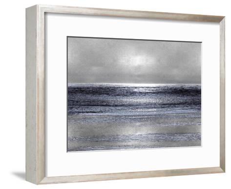 Silver Seascape III-Michelle Matthews-Framed Art Print