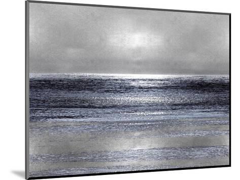 Silver Seascape III-Michelle Matthews-Mounted Giclee Print