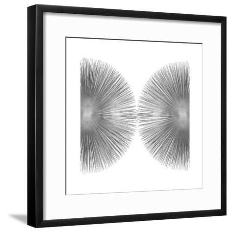 Silver Sunburst II-Abby Young-Framed Art Print