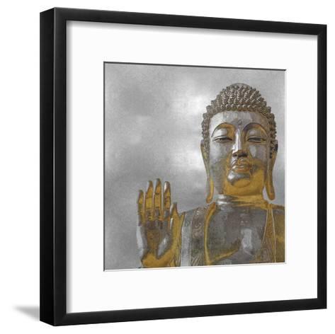 Silver and Gold Buddha-Tom Bray-Framed Art Print