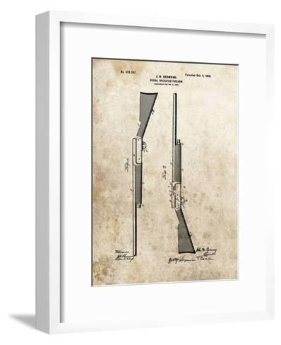 Recoil Operated Firearm, 1900-Dan Sproul-Framed Art Print