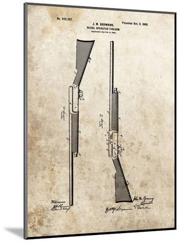 Recoil Operated Firearm, 1900-Dan Sproul-Mounted Giclee Print