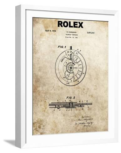 Rolex Calendar Time Piece, 195-Dan Sproul-Framed Art Print