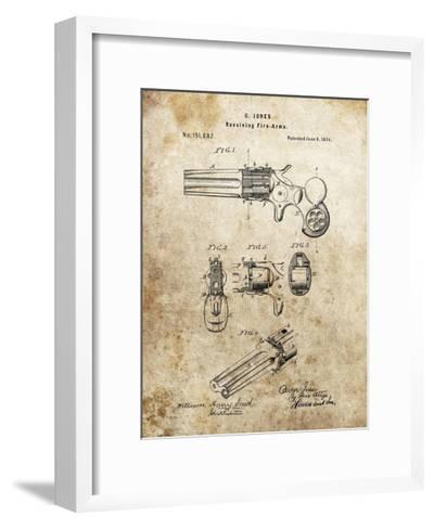 Revolving Fire Arms, 1874-Dan Sproul-Framed Art Print