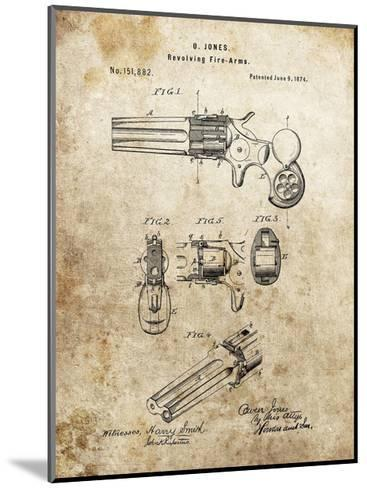 Revolving Fire Arms, 1874-Dan Sproul-Mounted Giclee Print