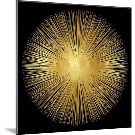 Sunburst on Black I-Abby Young-Mounted Giclee Print