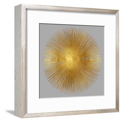 Sunburst on Grey I-Abby Young-Framed Art Print