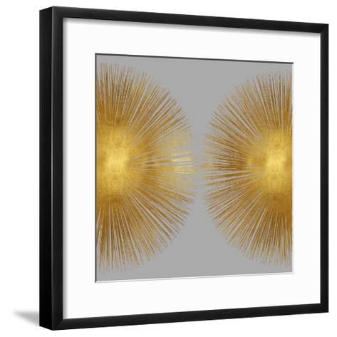 Sunburst on Grey II-Abby Young-Framed Art Print