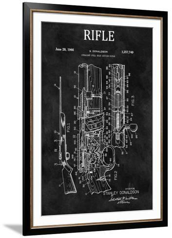 Straight Full Bolt Action Rifl-Dan Sproul-Framed Art Print