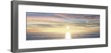 Sunlit Horizon III-Maggie Olsen-Framed Art Print