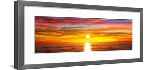 Sunlit Horizon IV-Maggie Olsen-Framed Art Print