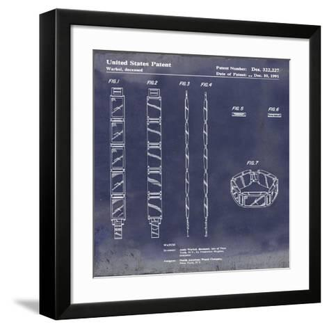 Warhol Watch, 1991-Antique Blu-Bill Cannon-Framed Art Print